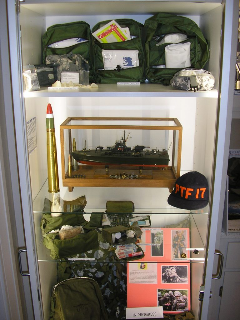 Vietnam Era PTF Boat, Post 1960 Field Medical Equipment - Cabinet 18