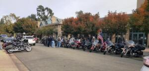 VETERANS DAY MOTORCYCLE RIDE TO DANVILLE FOR LUNCH